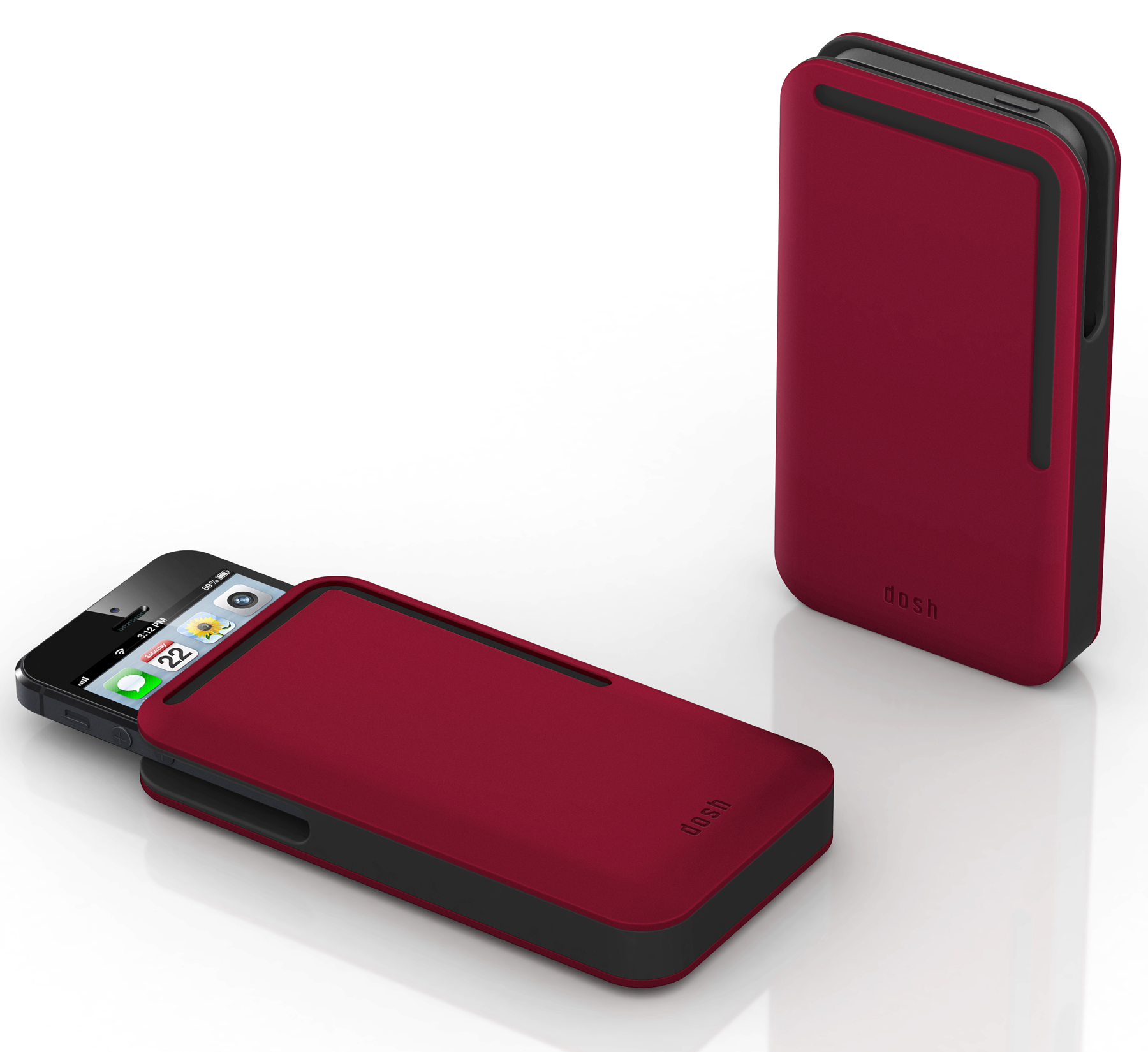 Dosh Syncro Velour Wallet - iPhone 5