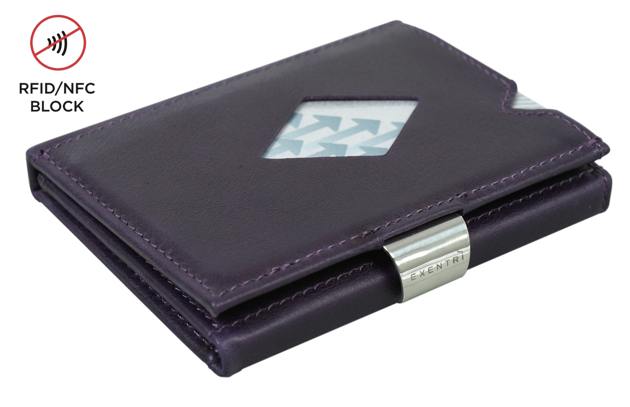Exentri Wallet RFID Purple Haze