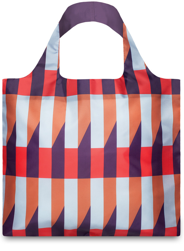 LOQI  Shopper Geomatric Stripes