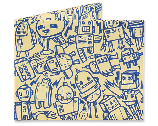 Mighty Wallet All Of The Robots