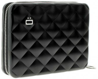 Ögon Quilted Passport Portefeuille Black