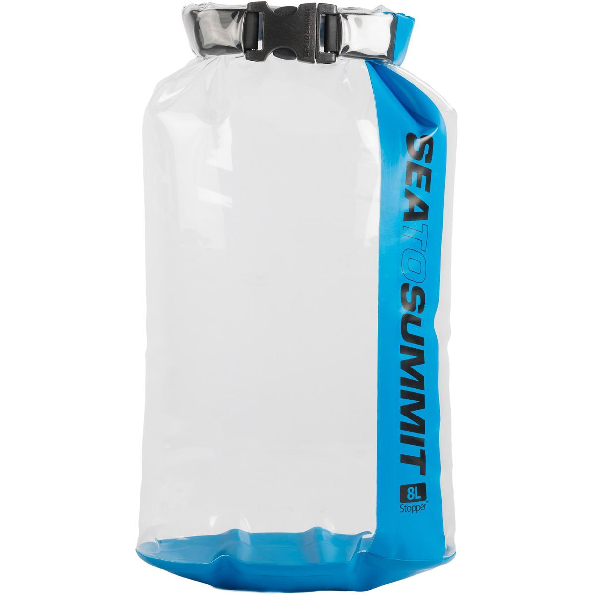 Sea To Summit Stopper Clear Dry Bag 8L Blue